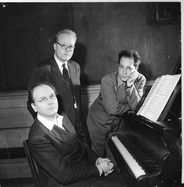 Michel_Fano-Olivier_Messiaen-Pierre_Boulez©Boris_Lipnitzki_Roger-Viollet
